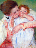 Anne Klein, from the Mother Embraces Posters by Mary Cassatt