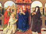 The Madonna with the Carthusians Prints by Jan Van Eyck
