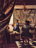The Allegory of Painting Prints by Jan Vermeer