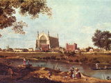 Eton College Prints by  Canaletto