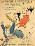 La Vache Enragee Pósters por Henri de Toulouse-Lautrec