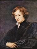 A Self Portrait Kunstdrucke von Anthony Van Dyck