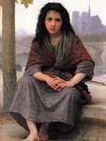 The Bohemian Posters by William Adolphe Bouguereau