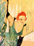 Yvette Guilbert Greets the Audience Pósters por Henri de Toulouse-Lautrec