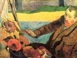 Van Gogh Painting Sunflowers Posters by Paul Gauguin
