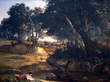 Forest of Fontainebleau Posters by Jean-Baptiste-Camille Corot