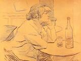 La resaca Póster por Henri de Toulouse-Lautrec