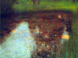 The Marsh Print by Gustav Klimt