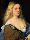 Violante 1518 Prints by  Titian