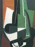 Carrafe Posters by Juan Gris