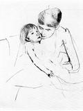 The Ill Child Prints by Mary Cassatt
