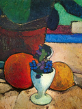 Still Life with Lemon, Orange and Tomato Posters by Paula Modersohn-Becker