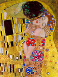 The Kiss (Detail) Print by Gustav Klimt