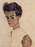 Egon Schiele - Self-Portrait Plakát
