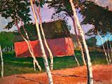 Landscape Prints by Paula Modersohn-Becker