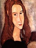 Portrait of Jeanne Hebuterne, 1918 Posters by Amedeo Modigliani