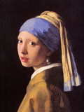 The Girl with the Pearl Earring Prints by Jan Vermeer