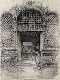 The Doorway Posters by James Abbott McNeill Whistler
