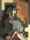 Men from the Tourraine Prints by Juan Gris