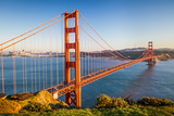 Golden Gate Bridge at Sunset, Sun Francisco Photographic Print by  sborisov