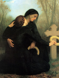The Day of the Dead Poster by William Adolphe Bouguereau