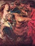 Drunken Silenus Kunstdrucke von Anthony Van Dyck