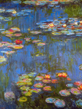 Waterlillies Posters by Claude Monet
