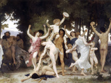 The Youth of Bacchus Prints by William Adolphe Bouguereau
