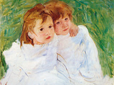 The Sisters Poster by Mary Cassatt