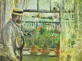 Eugene Manet on the Isle of Wight Posters by Berthe Morisot
