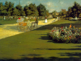 Prospect Park Posters by William Merritt Chase