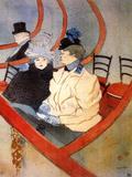 The Loge 2 Pósters por Henri de Toulouse-Lautrec