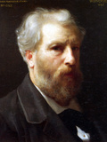 Self-Portrait Presented to M Sage Prints by William Adolphe Bouguereau