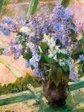 Flowers in the Window Posters by Mary Cassatt