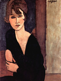 Portrait of Madame Reynouard Prints by Amedeo Modigliani