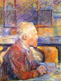 Portrait of Van Gogh Láminas por Henri de Toulouse-Lautrec