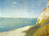 The Beach Prints by Georges Seurat