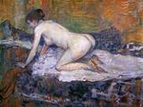 Woman Naked Arte por Henri de Toulouse-Lautrec