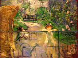 Chair in the Garden Poster by Berthe Morisot
