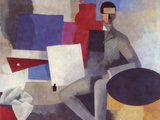Sitting Man Prints by Roger de La Fresnaye