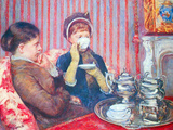 A Cup of Tea 2 Print by Mary Cassatt