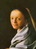 Maid Prints by Jan Vermeer