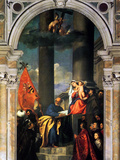 Pesaros Madonna Posters by  Titian