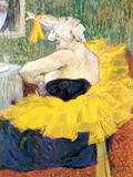 The Clowness Cha U Kao Pósters por Henri de Toulouse-Lautrec