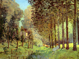 Resting on the River Bank Prints by Alfred Sisley