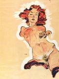 Female Act Art by Egon Schiele