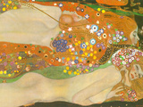 Water Snakes II Prints by Gustav Klimt