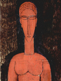 Red Breasts Posters by Amedeo Modigliani