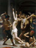 The Flagellation of Our Lord Jesus Christ Print by William Adolphe Bouguereau