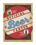 Official Beer Taster Posters by  Anderson Design Group